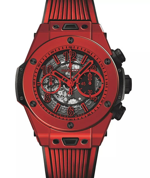 Hublot Big Bang Ferrari Unico Red Ceramic 45 mm Watch